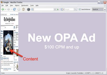 Online Publishers Association Ad Unit
