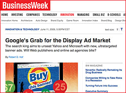 BusinessWeek Google Grab for the Display Ad Market