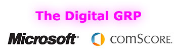 The Digital GRP Starring Comscore and Microsoft