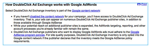 Buy The DoubleClick Ad Exchange through AdWords