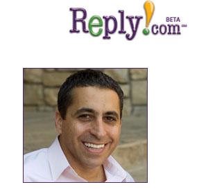 CEO Payam Zamani of Reply.com