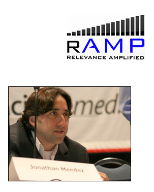 CEO Jonathan Mendez of RAMP Digital
