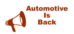 Automotive Is Back