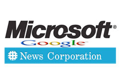 Microsoft, Google and News Corp
