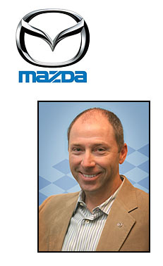 Mike Collinson of Mazda Canada