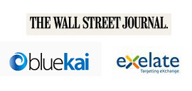 BlueKai and eXelate in WSJ