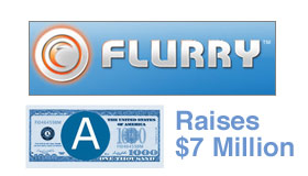 Flurry Raises $7 Million