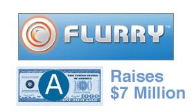 Flurry Raises $7 Million
