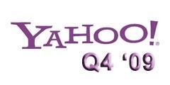 Yahoo Q4 2009