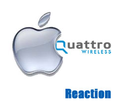 Reaction: Apple Buys Qauttro Wireless