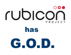Rubicon Project and GOD