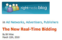 Right Media Blog