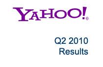 Yahoo Q2 2010