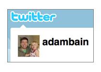 Adam Bain Joins Twitter