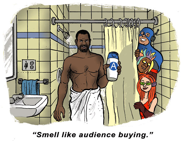 Smell Like Audience Buying