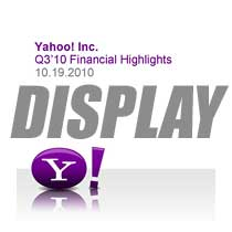Yahoo Q3 2010