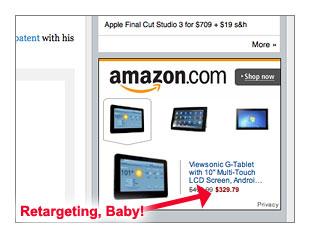 Amazon Retargeting