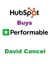 The Opportunity Ahead And Performable Email This Post Email This Post  :   David Cancel, Chief Product Officer, HubSpot