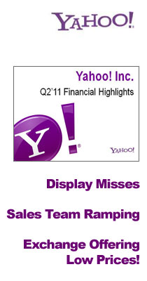 Yahoo! Earnings Q2 2011