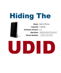 UDID and Apple