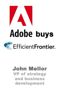 Adobe Buys Efficient Frontier