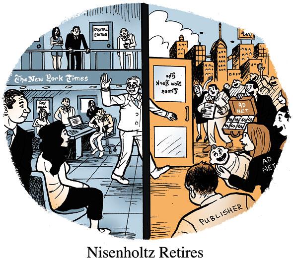 Nisenholtz Retires
