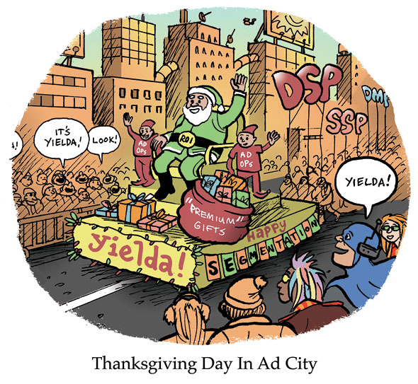 Thanksgiving Day In Ad City
