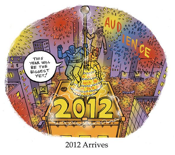 2012 Arrives