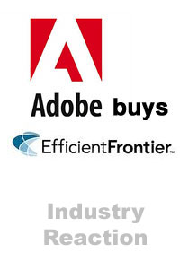 Adobe-Efficient Frontier Industry Reaction