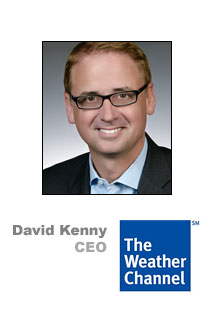David Kenny of Weather Channel