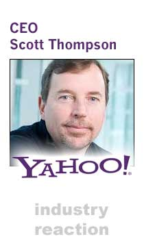 Yahoo! CEO Scott Thompson