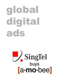singtel buys amobee
