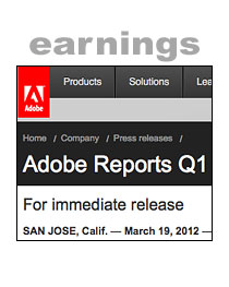 Adobe Earnings