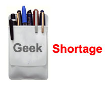 Geek Shortage