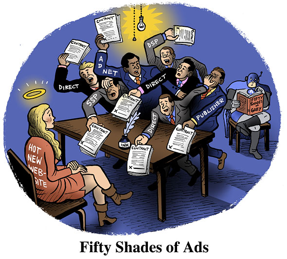 Fifty Shades Of Ads