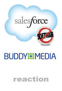 Salesforce Buddy Reaction