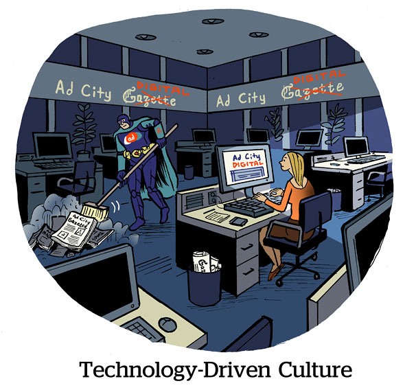 Technology-Driven Culture