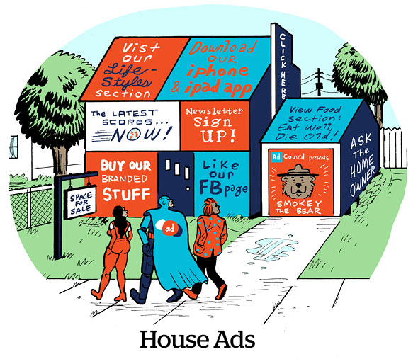 Comic house ads adexchanger for Ad house
