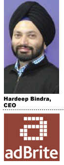 Hardeep Bindra, AdBrite
