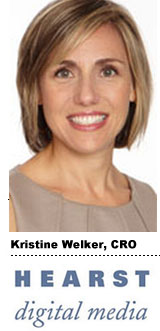 Kristine Welker, CRO, Hearst Digital Media