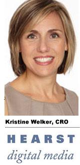 Kristine Welker, CRO, Hearst Digital Media