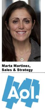 Marta Martinez, AOL Advertising