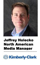 Interview With :   Jeff Holecko, North American media manager at Kimberly-Clark
