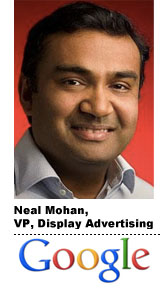 Neal Mohan, Google, vp display