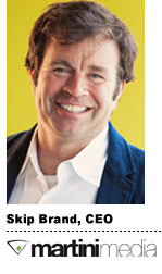 Skip Brand, Martini Media