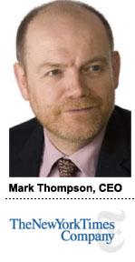 Mark Thompson, CEO NYTCo
