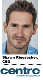 Shawn Riegsecker, Centro