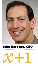 Interview With :   John Nardone, CEO of [x+1]