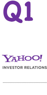 Yahoo Earnings Q1 2013
