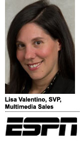 Lisa Valentino, ESPN, SVP, Multimedia Sales